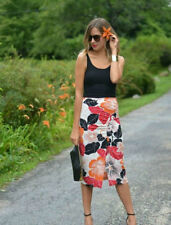 Zara Viscose Casual Floral Skirts for Women