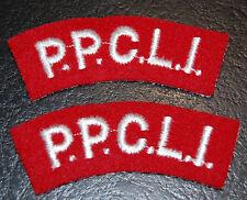 Cloth Shoulder Flashes-P.P.C.L.I. Canada