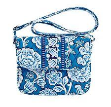 New Vera Bradley Rachel Hand Bag Purse Tote Blue Lagoon Crossbody Convertible