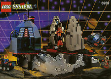 LEGO 6959 - SPACE, SPYRIUS - Lunar Launch Site - NO BOX