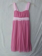 Ruby Rox Light Pink Girl Dress Size XL with Satin Accents NWT G82084