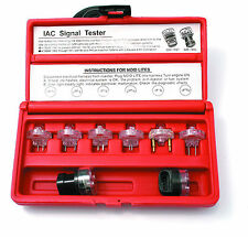 3401 8 PC. NOID ELECTRONIC FUEL INJECTORS TEST KIT AND IDLE AIR CONTROL TESTERS