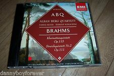 Johannes Brahms CD Clarinet & String Quintets Alban Berg Quartett op.115 #2 111
