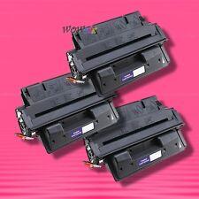 3 Non-OEM Alternative TONER for HP C4127X 27X LaserJet 4000se