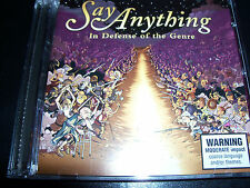 Say Anything In Defence Of The Genre 2 CD Set – Like New/Mint