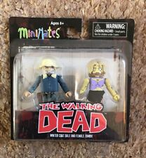THE WALKING DEAD WINTER COAT DALE & FEMALE ZOMBIE MINIMATES NEW MINI FIGURE