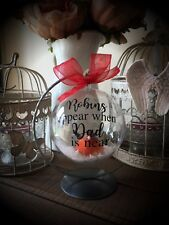 Robin Bauble With Stand Tree Decoration Xmas Christmas Angel Memorial Dad Mum