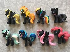 Funko Mystery Minis Lot of 8 My Little Pony Series 1 2013 Ponies Figures Black