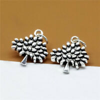 Sterling Silver Tree of Life Charm Nature Pendant for Bracelet Necklace