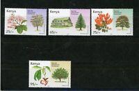 Kenia MiNr. 811-14 postfrisch MNH Bäume (W032