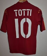 ROMA ITALY 2004/2005 HOME FOOTBALL SHIRT MAGLIA JERSEY DIADORA #10 TOTTI
