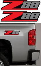 2 - Z88 Chevy Decal Sticker Parts for Silverado GMC or Sierra Truck 4x4