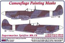 AML Models 1/72 CAMOUFLAGE PAINT MASKS SUPERMARINE SPITFIRE Mk.IX Fighter