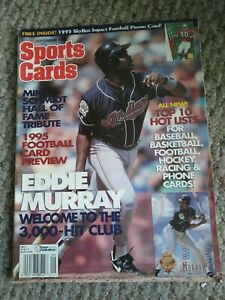 Sports Cards Trading Mag Sept 1995 Eddie Murray