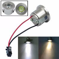 1/3W Recessed Mini Spotlight Lamp Ceiling Mounted LED Downlight Ceiling Light HF
