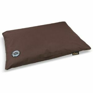 SCRUFFS EXPEDITION MEMORY FOAM ORTHOPAEDIC PILLOW CHOCOLATE 2 SIZES