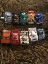 Disney Pixar Cars Micro Drifters Lot 2 10 Cars Doc Hudson Lightning
