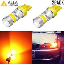 Alla 72-LED YELLOW 7443NA Parking Light|Side Marker Light|Turn Signal Light Bulb