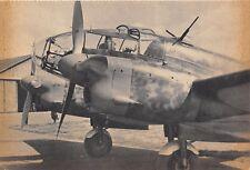 3703) WW2 AVIAZIONE AEREO CAPRONI CA 331 DA OSSERVAZIONE E BOMBARDAMENTO.