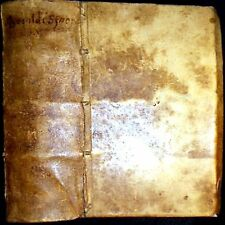 1639 HISTORY OF THE WORLD CHRISTOPHER BESOLDUS VELLUM EUROPE BIBLE WAR ROYALTY $