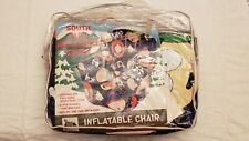 RARE Vintage 1998 South Park Full-sized Inflatable Chair by Funiture w/Chef NWT