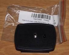"""Placa de cambio rápido adaptadora embrague 1/4"""" Tornillo para Velbon Sony"""