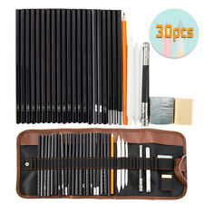 30 in 1 Drawing Sketching Pencil Pen Set Writing Stationery Artist Tool Art Kit