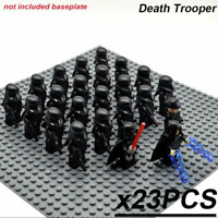 23 Pcs Minifigures Star Wars Clone Trooper Death Trooper Stormtrooper Lego MOC