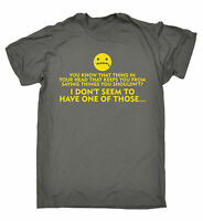 That Thing In Your Head T-SHIRT Clever Tee Top Joke Present birthday funny gift