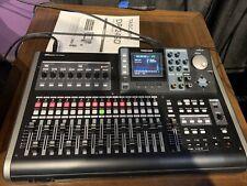 Tascam Dp-24Sd 24 Track Digital Portastudio Multi-Track Audio Recorder