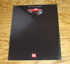 Original 1994 GMC Truck Sierra Sales Brochure 94