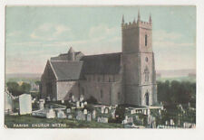 Parish Church Hythe Kent England Vintage Postcard Us051