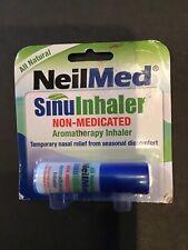 NeilMed Sinuinhaler Non-medicated Aromatherapy Sinus Nose Inhaler Exp.09/2020