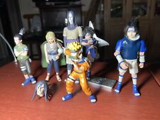 RARE Naruto Action Figure LOT OF 6 Used Naruto, Sasuke, Lady Tsunade, Orochimaru