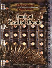 BOOK OF EXALTED DEEDS NM! TSR Dungeons & Dragons AD&D D&D