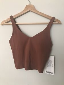 NWT Lululemon Align Tank Size 4 Top Bra Ancient Copper New