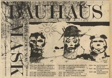 24/10/81PGN06 ADVERT: BAHAUS NEW L.P MASK AND TOUR DATES 7X11