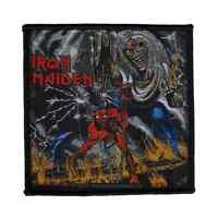IRON MAIDEN woven Patch THE NUMBER OF THE BEAST gewebter Aufnäher Heavy Metal