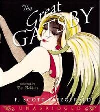 The Great Gatsby AudioBook NEW Sealed 6 CDs F Scott Fitzgerald Tim Robbins 7 Hrs