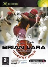 Brian Lara International Cricket 2005 (Xbox) - Free postage - UK Seller