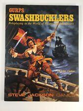 Gurps Swashbucklers Steve Jackson Games 6019 Vintage