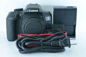 [Near Mint] Canon EOS 750D 24.2MP Digital SLR Camera Body (ny1698)
