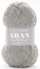 Hayfield Bonus Aran Tweed with Wool 400g - Complete Range.