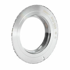 Selens Adapter Ring Silver for Takumar M42 Lens to Canon EOS EF EFS Mount