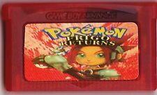 Pokemon : FRIGO Returns (Game Boy Advance Cartridge) (Ruby & Sapphire) - Rare!