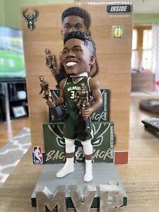 Giannis Antetokounmpo Mikwaukee Bucks 2X NBA MVP Bobblehead