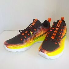 Nike VAPOR SPEED TURF Rubber Lugs Football Cleats SOLAR FLARE 856585 798 MEN 16