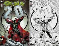 Image Mexico SPAWN #220 Todd McFarlane 20TH ANNIVERSARY COLOR & SKETCH Variant