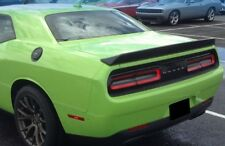 502 FACTORY STYLE SPOILER fits the 09-17 DODGE CHALLENGER MATTE BLACK