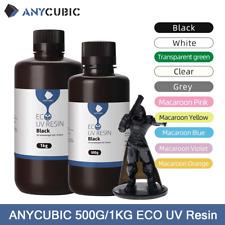 ANYCUBIC 500g/1KG UV Résine Plant-based Resin pour LCD Imprimante 3D MONO X Mars